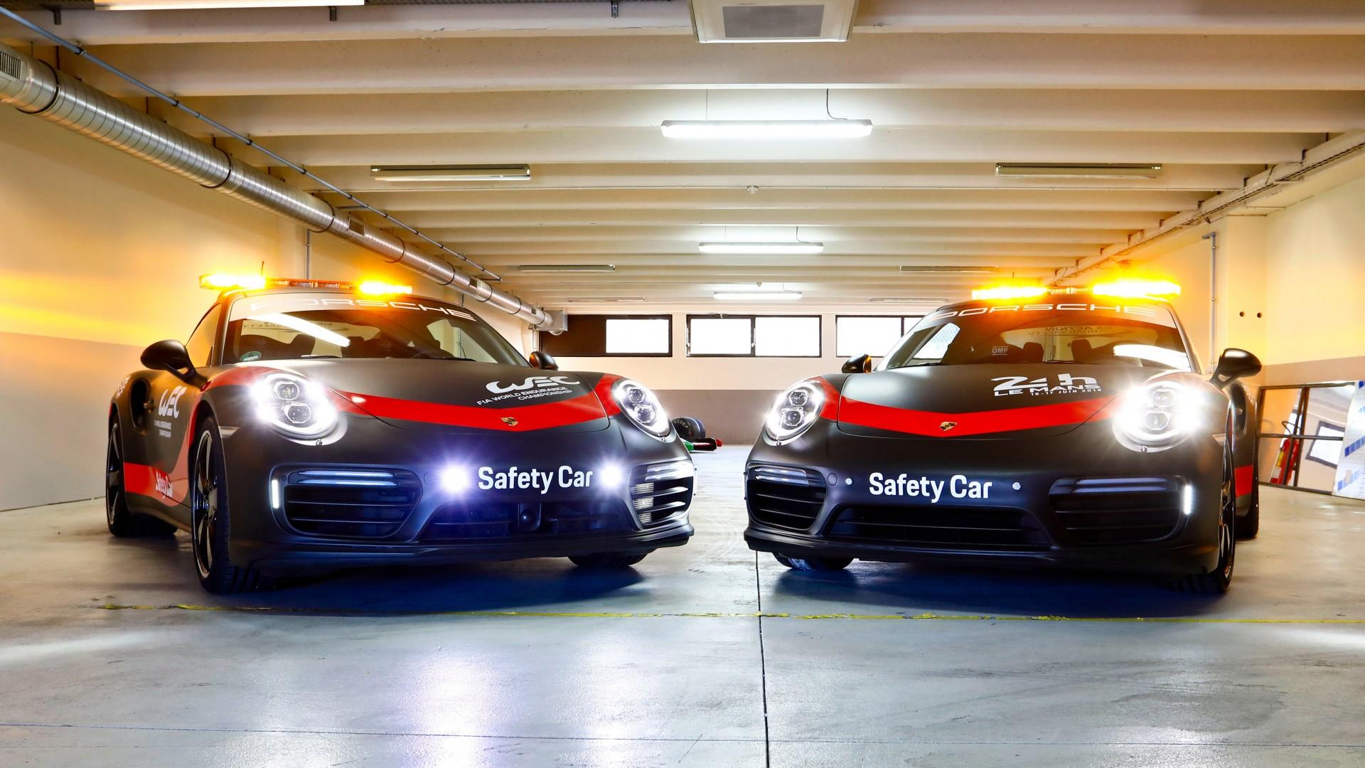 2018 Porsche 911 Turbo WEC Safety Car 4K 2 Wallpaper