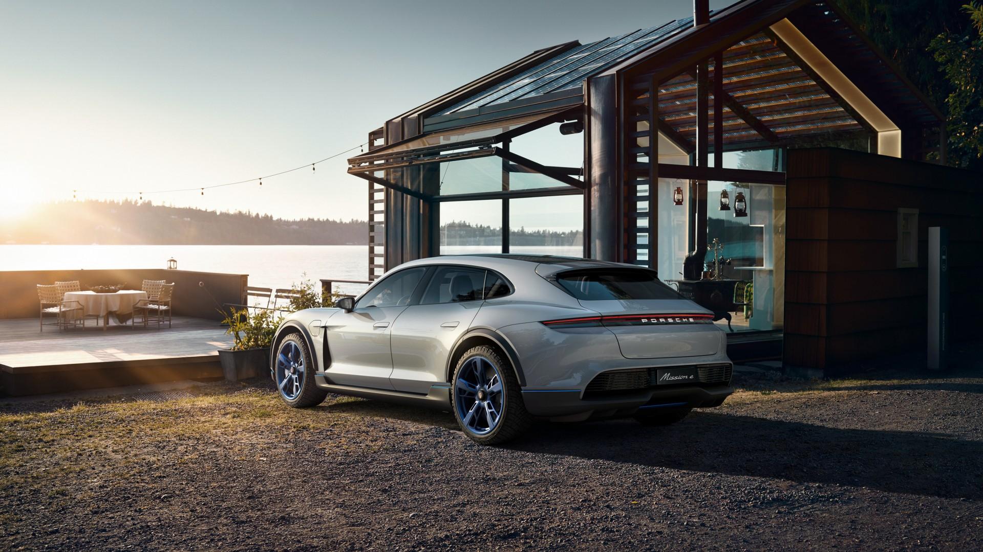 2018 Porsche Mission E Cross Turismo 4K 10 Wallpaper | HD ...