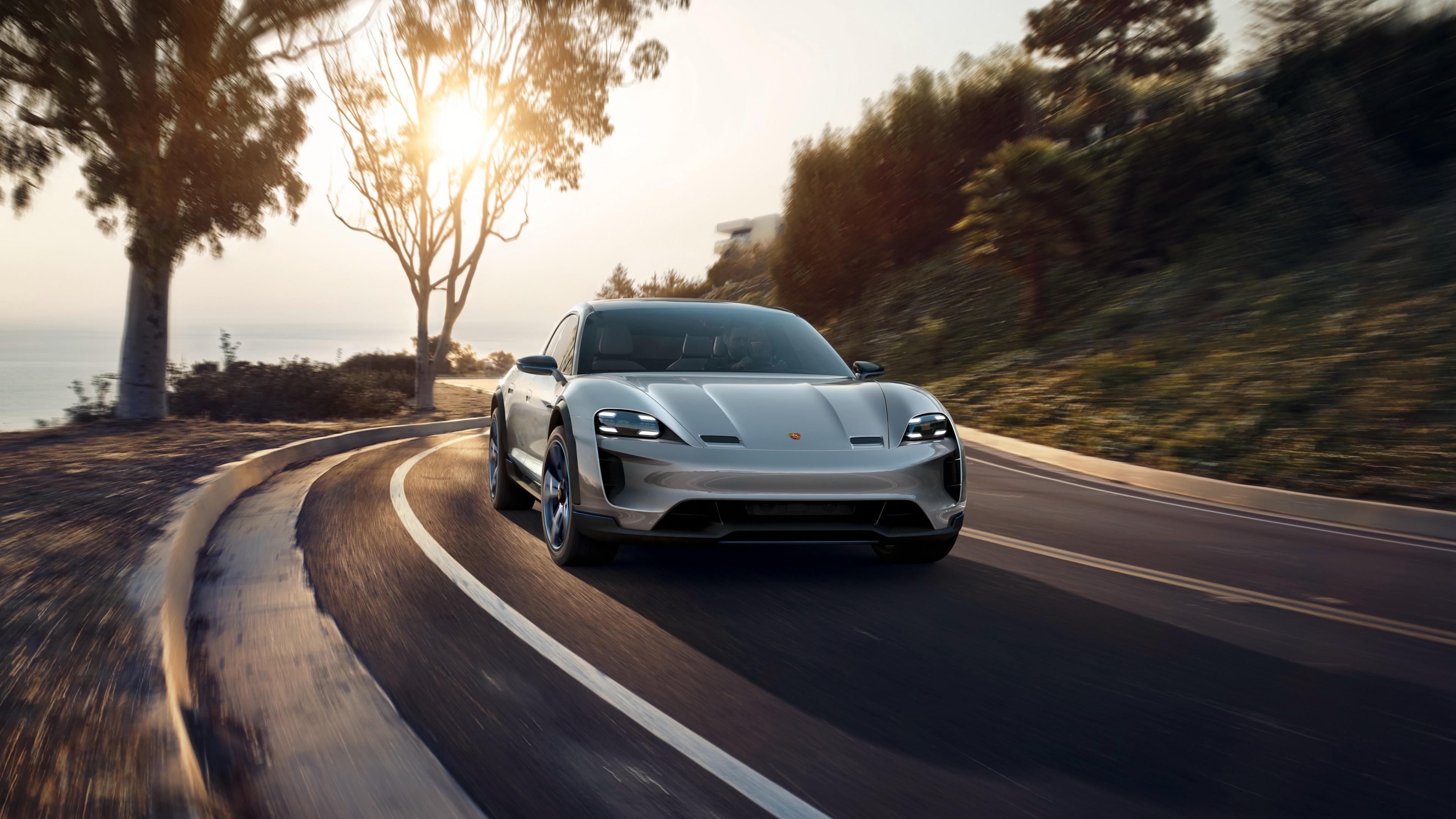 2018 Porsche Mission E Cross Turismo 4K 14 Wallpaper