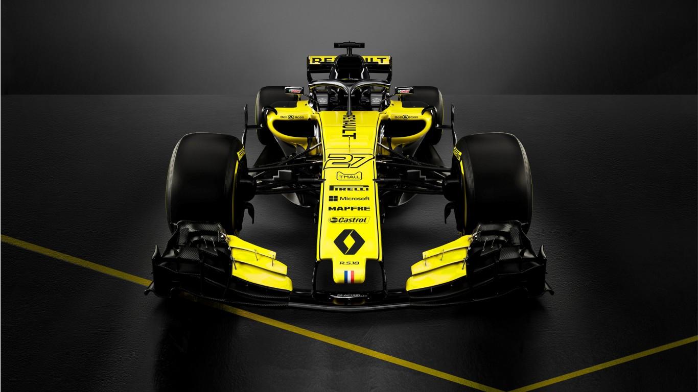 2018 Renault RS18 F1 Formula 1 Car 4K Wallpaper | HD Car ...