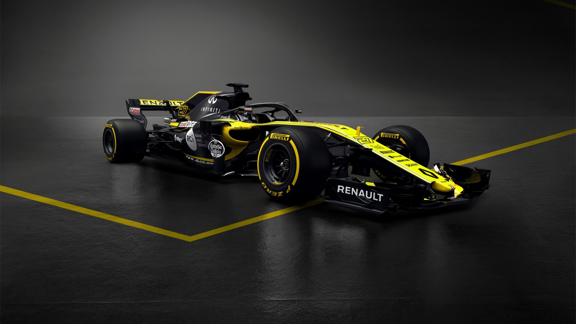 Formula 1 Hd: 2018 Renault RS18 F1 Formula 1 Car 4K 2 Wallpaper