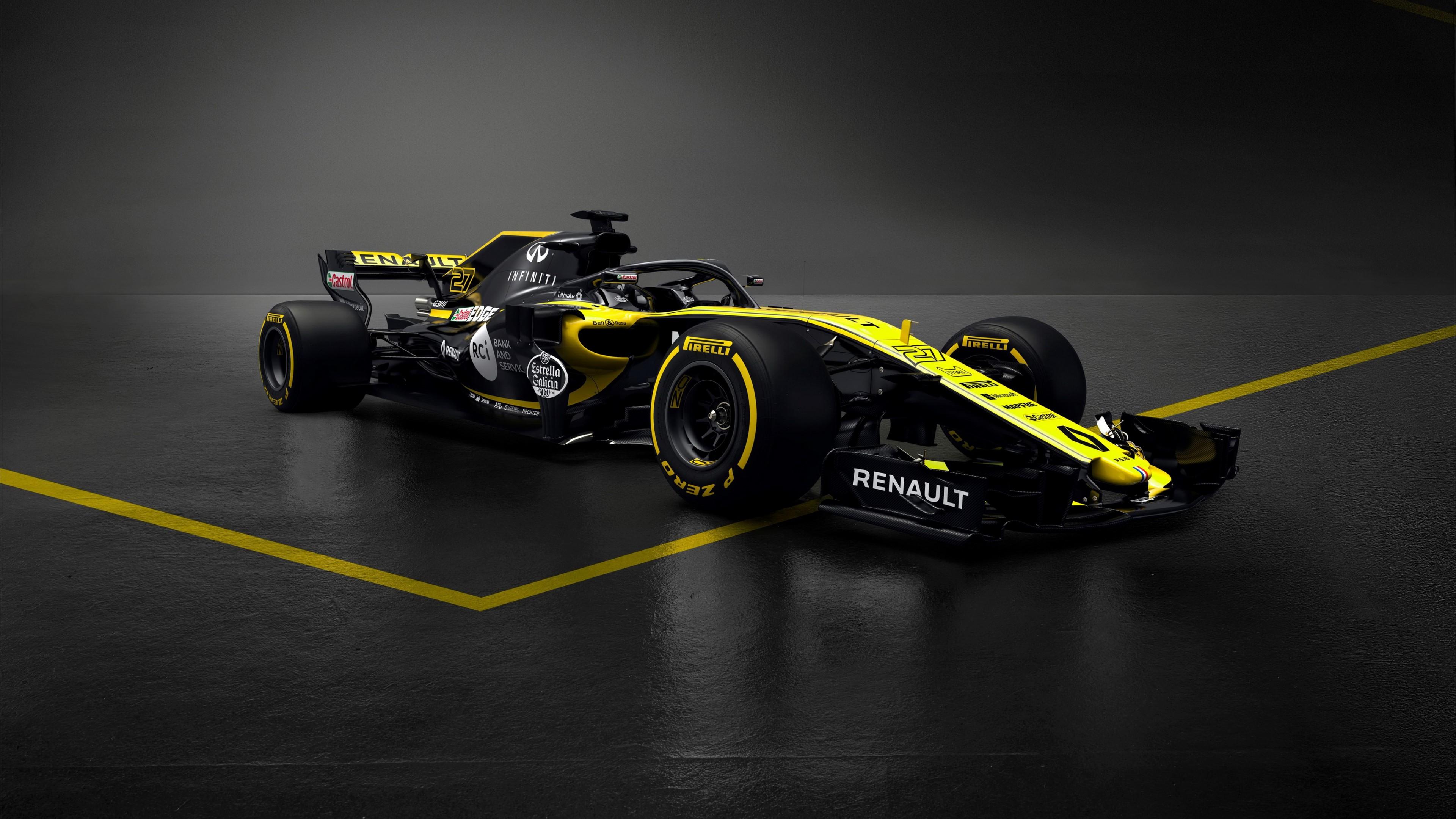 2018 Renault RS18 F1 Formula 1 Car 4K 2 Wallpaper   HD Car ...