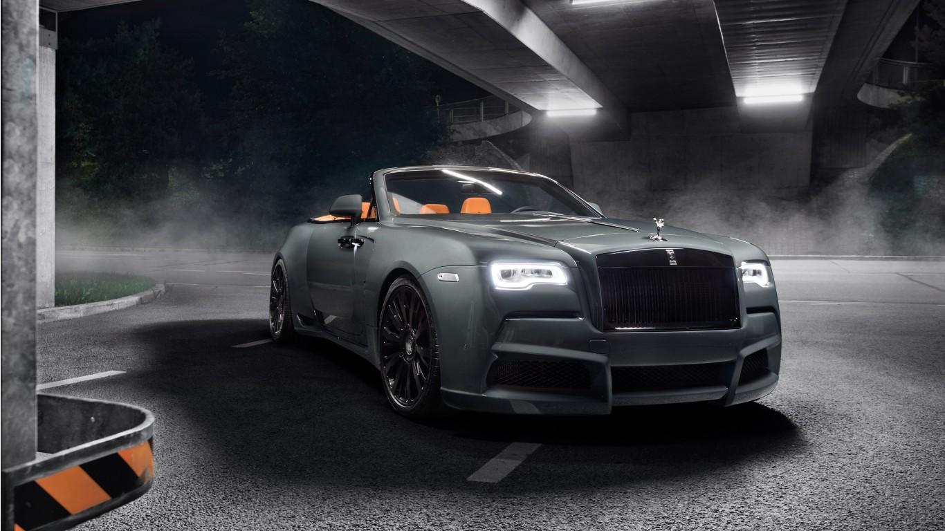 2018 Rolls Royce Dawn Overdose By Spofec 4K Wallpaper | HD ...