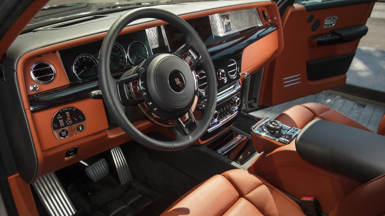 2018 Rolls Royce Phantom 4K Interior Wallpaper | HD Car Wallpapers | ID #8754