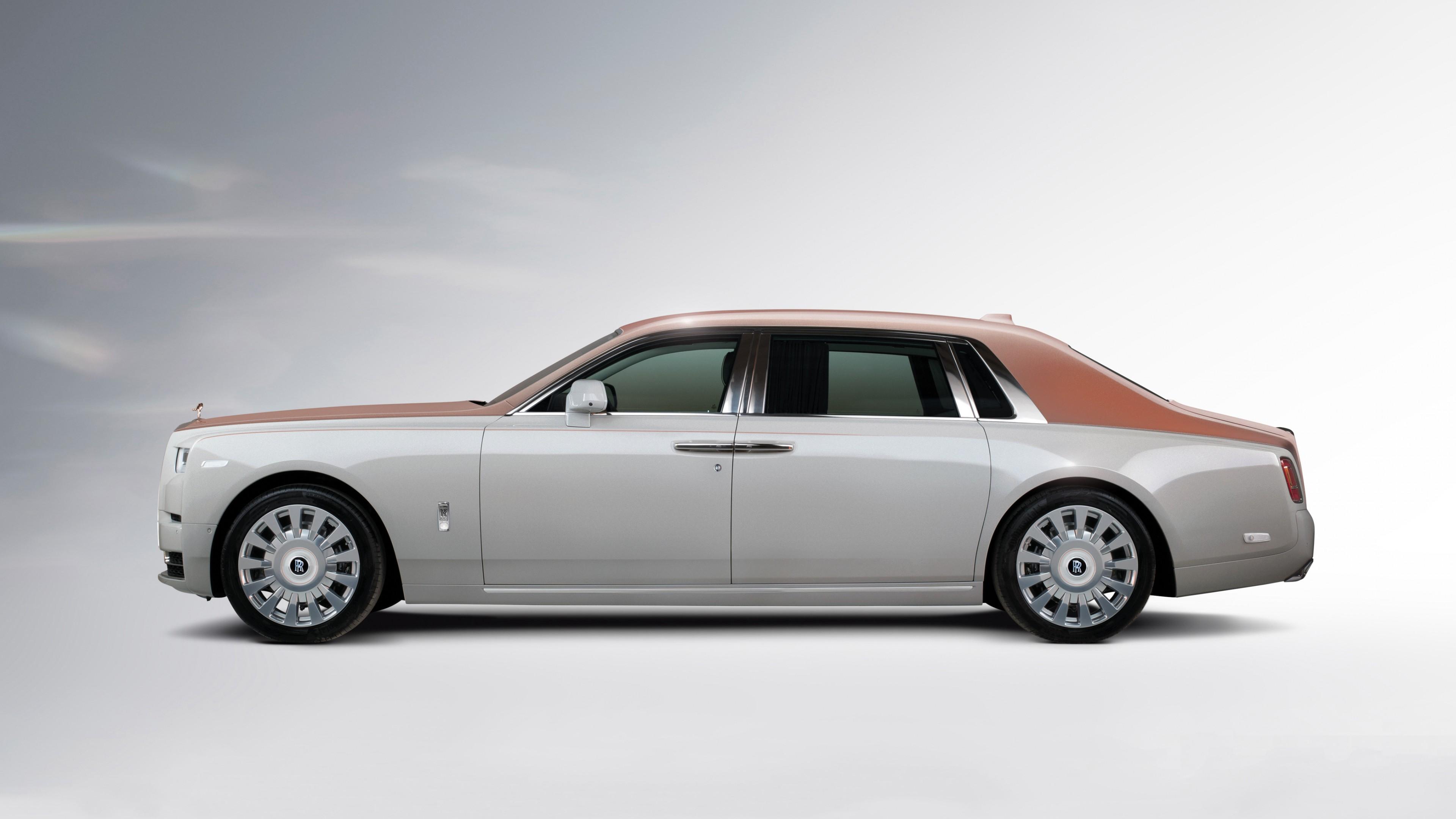 2018 Rolls Royce Phantom EWB Whispered Muse 4K Wallpaper ...