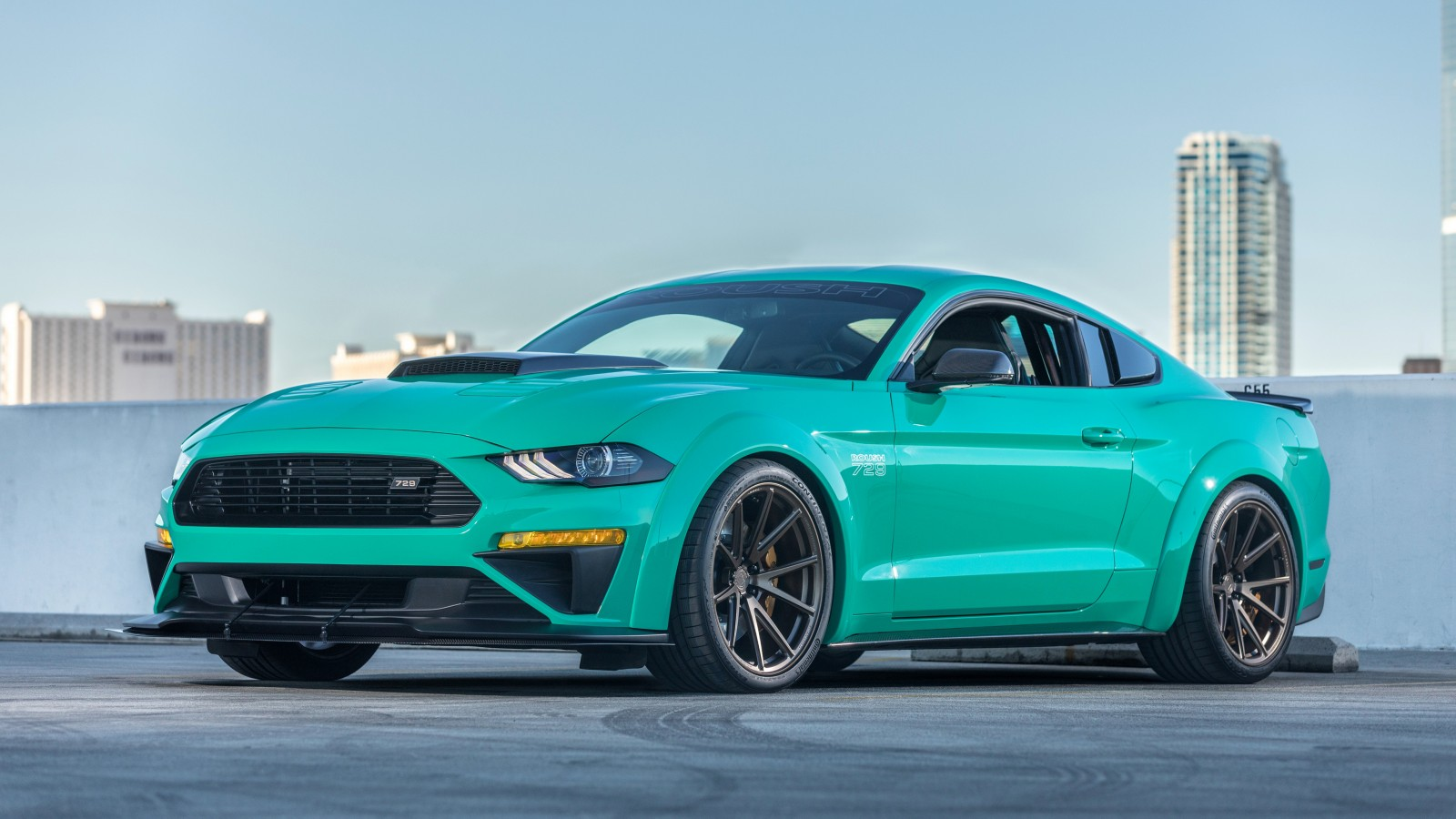 2018 roush ford mustang 729 4k wallpaper hd car. Black Bedroom Furniture Sets. Home Design Ideas