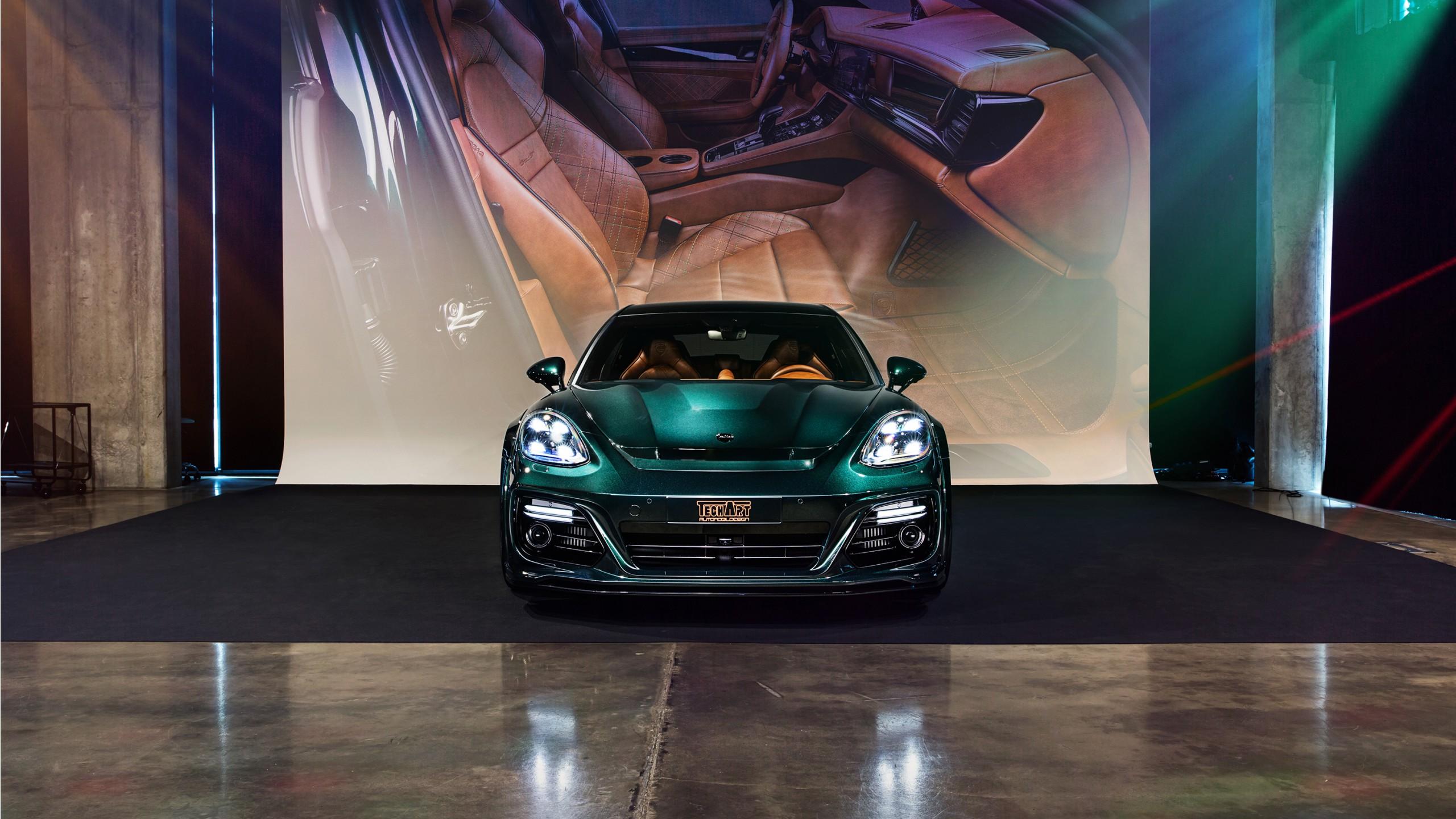 2018 TechArt Porsche Panamera Sport Turismo Grand GT 3 ...