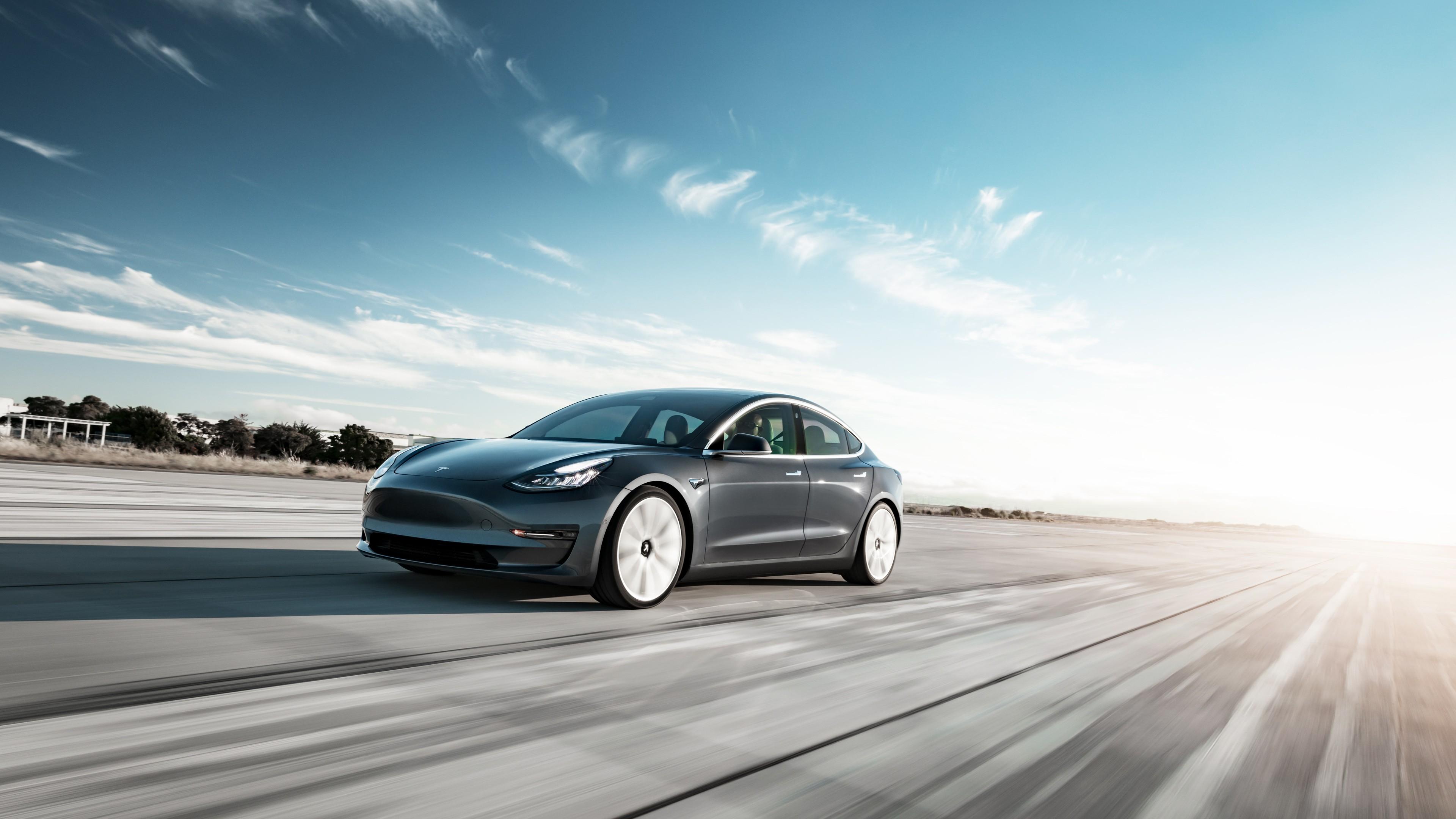 2018 Tesla Model 3 4k Wallpaper Hd Car Wallpapers Id 11243