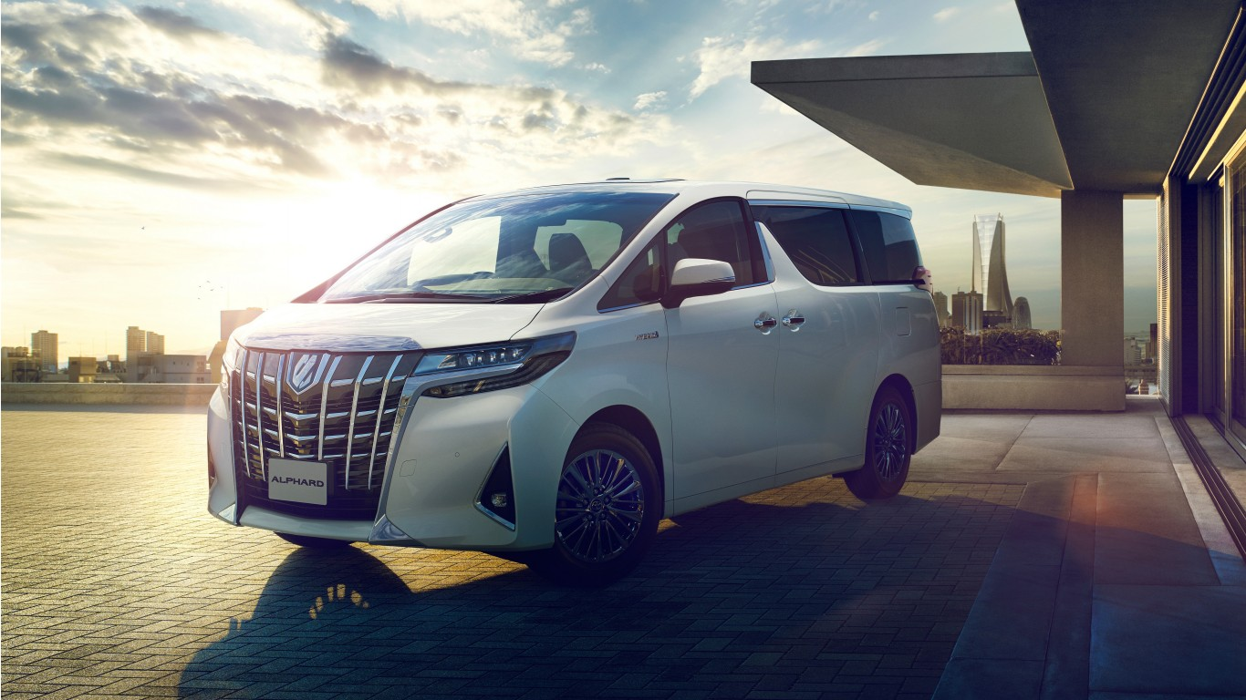2018 Toyota Alphard Executive Lounge 4K Wallpaper | HD Car ...