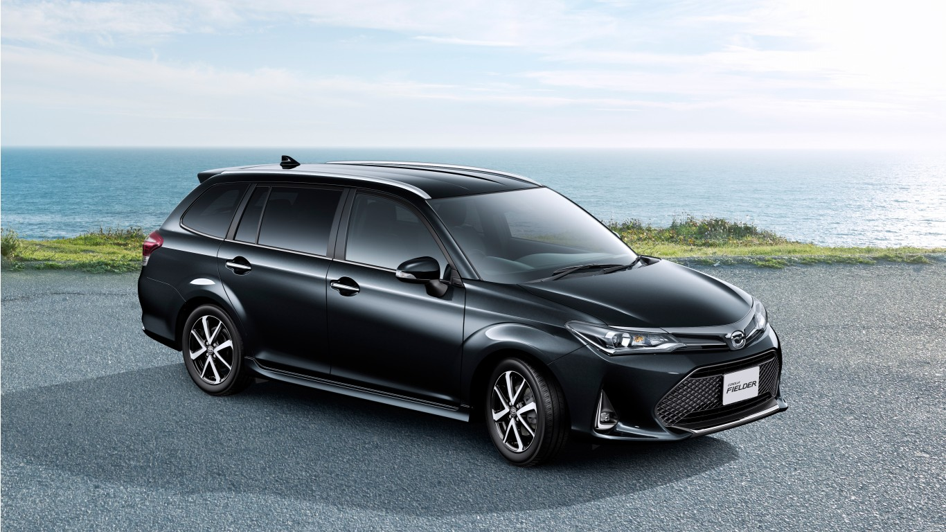 2018 Toyota Corolla Fielder 4k Wallpaper Hd Car