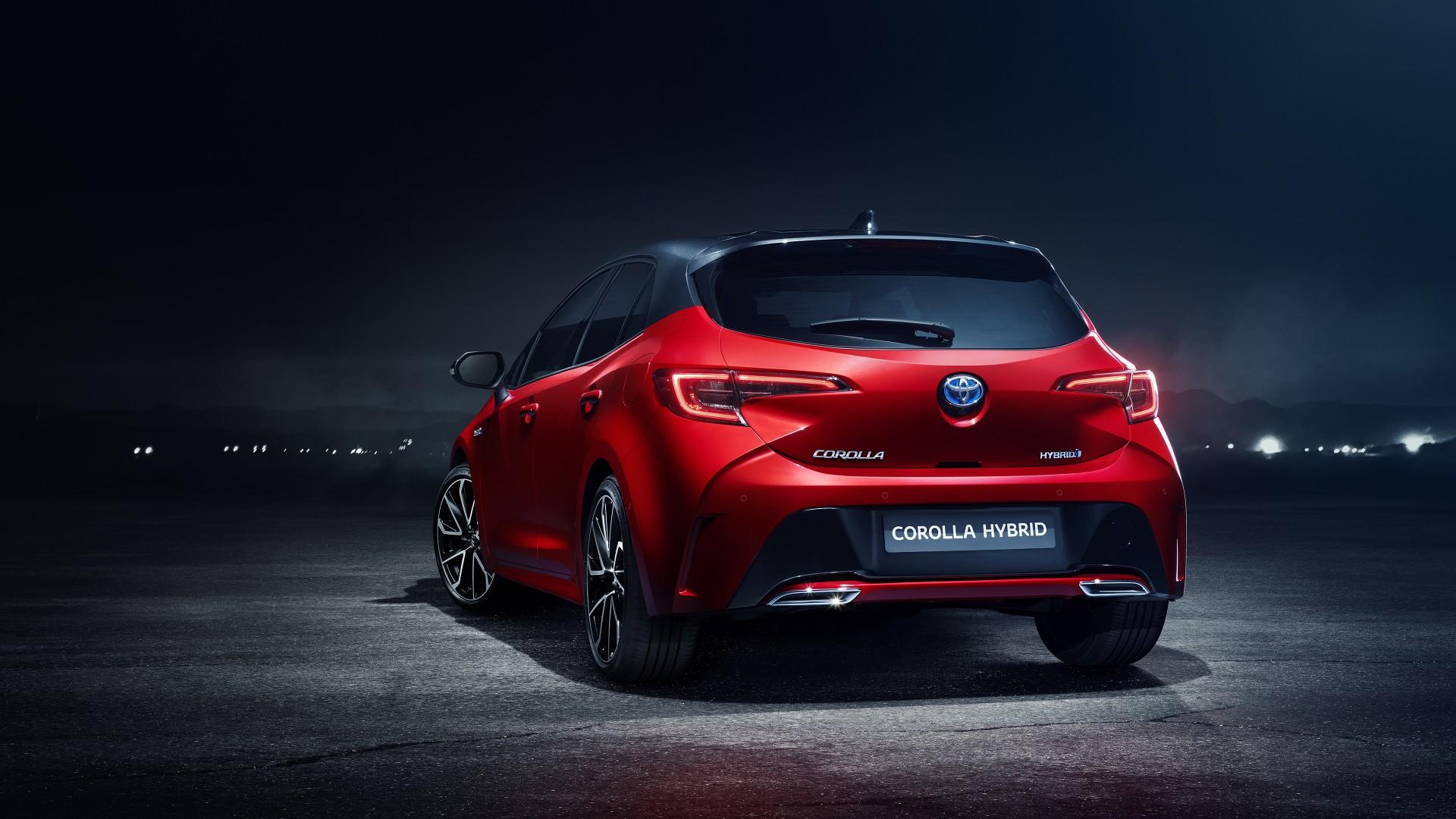 2018 Toyota Corolla Hybrid 4K Wallpaper | HD Car ...