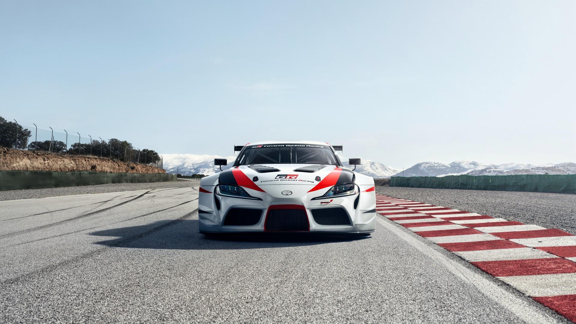 2018 Toyota GR Supra Racing Concept 4K 8 Wallpaper