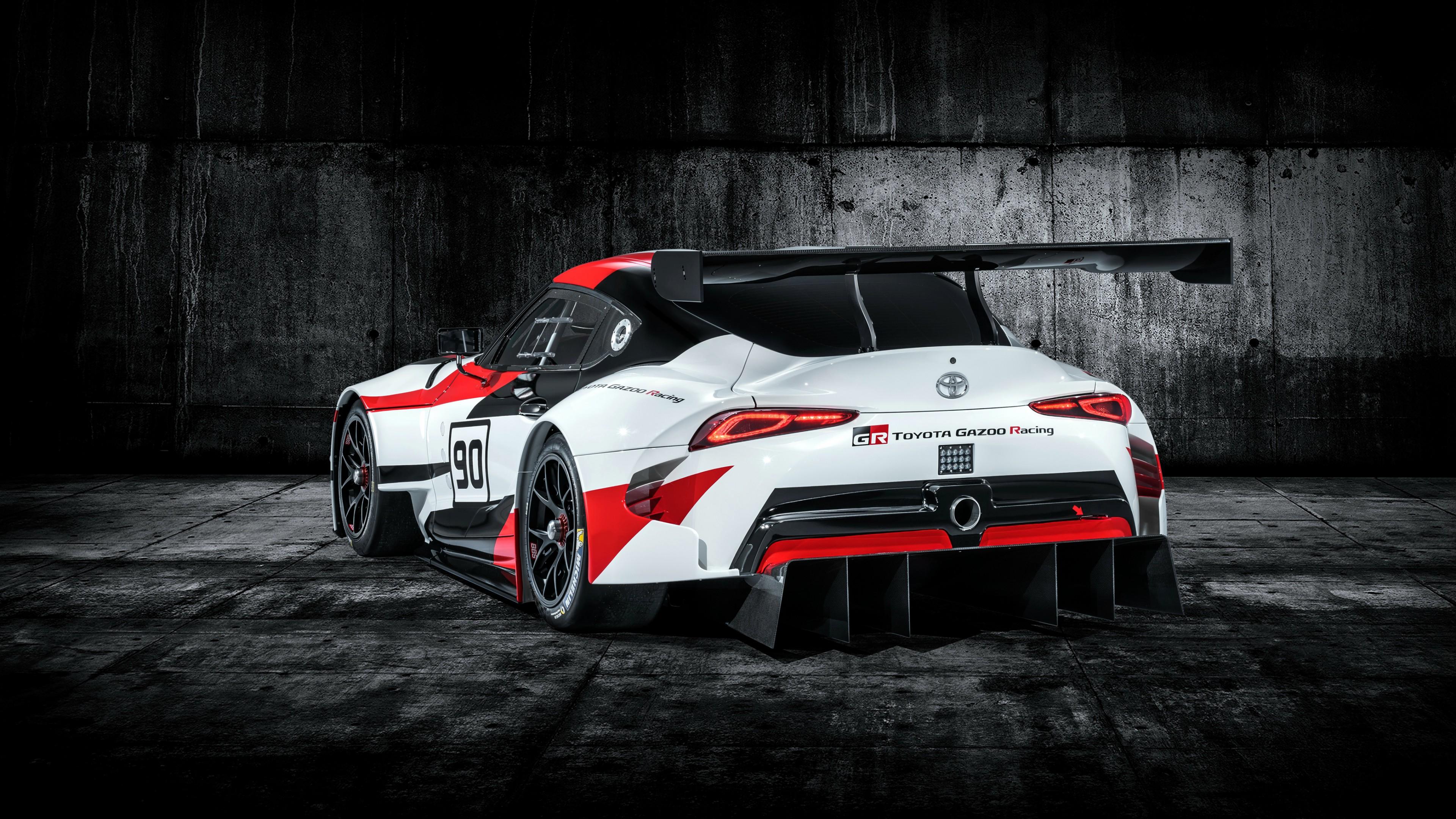 2018 Toyota GR Supra Racing Concept 4K 9 Wallpaper   HD ...