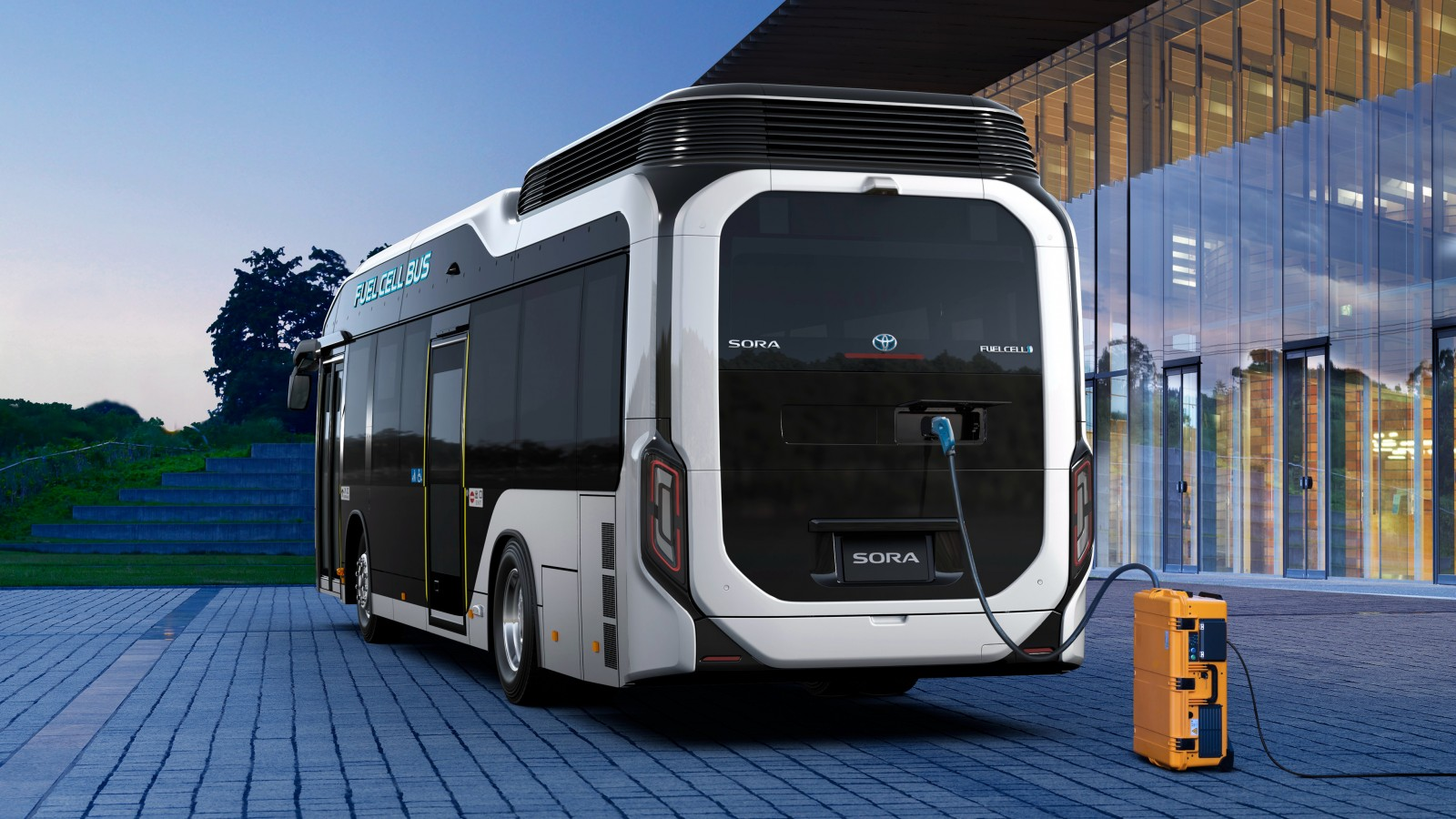2018 Toyota Sora Fuel Cell Bus 4k Wallpaper Hd Car