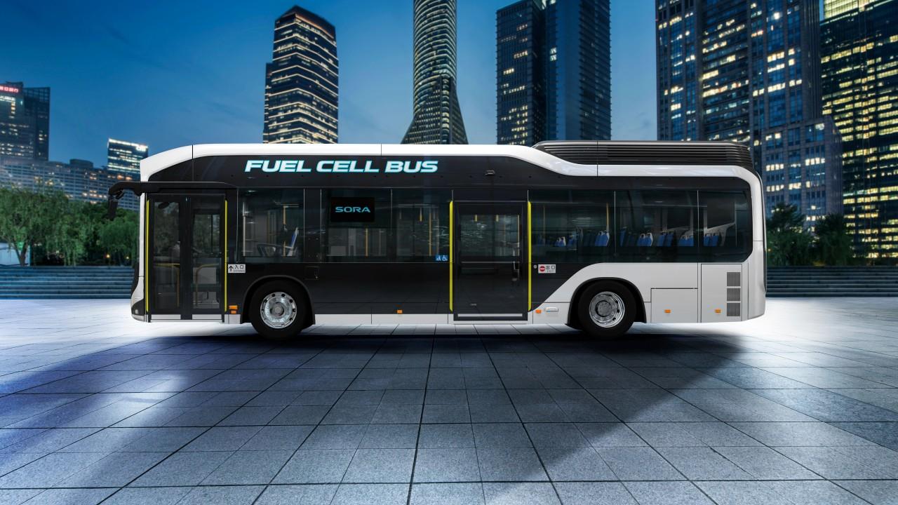 2018 toyota sora fuel cell bus 4k 2 wallpaper hd car wallpapers id 10061. Black Bedroom Furniture Sets. Home Design Ideas