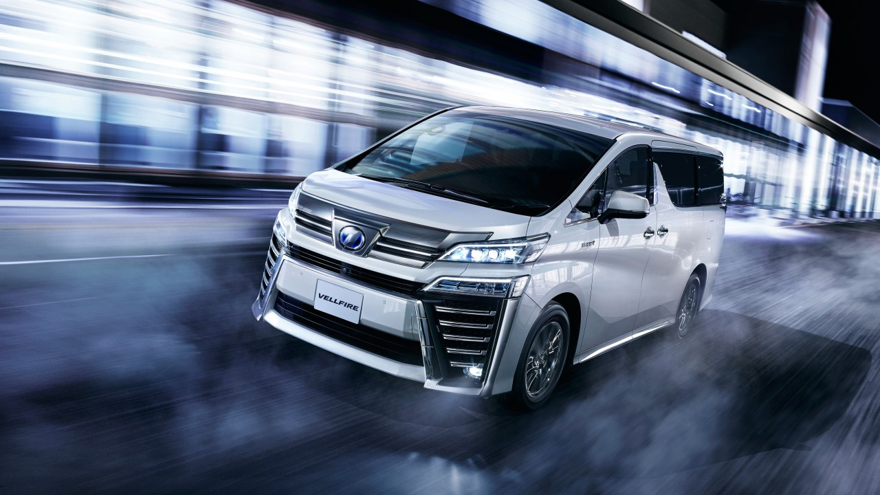 2018 Toyota Vellfire Executive Lounge Z 4K Wallpaper | HD ...