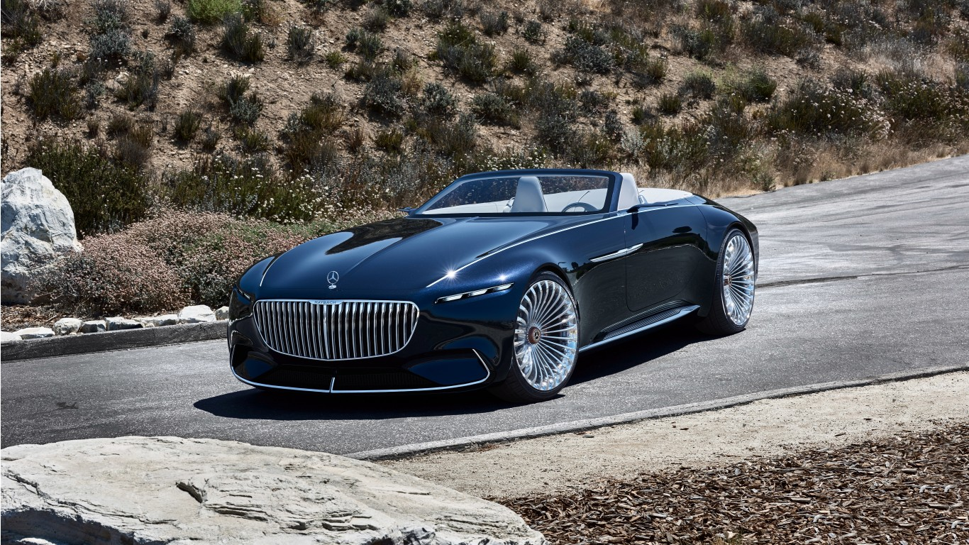 2018 vision mercedes maybach 6 cabriolet 7 wallpaper hd car wallpapers id 8286. Black Bedroom Furniture Sets. Home Design Ideas