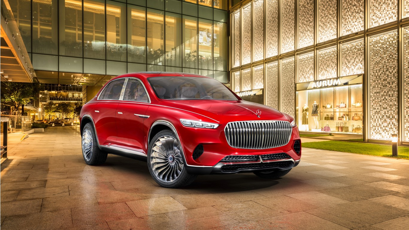 2018 Vision Mercedes Maybach Ultimate Luxury 4K Wallpaper ...