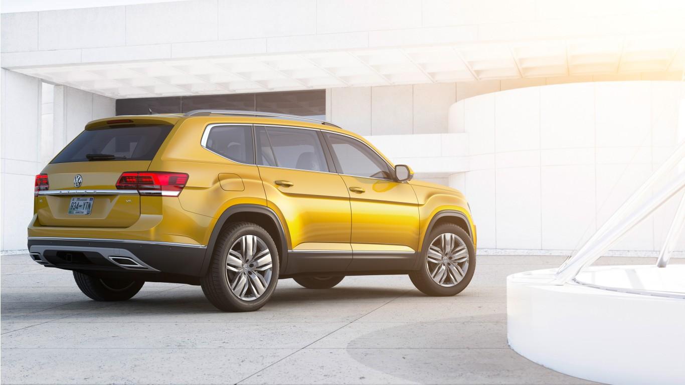 2018 Volkswagen Atlas Rear Wallpaper | HD Car Wallpapers | ID #7117