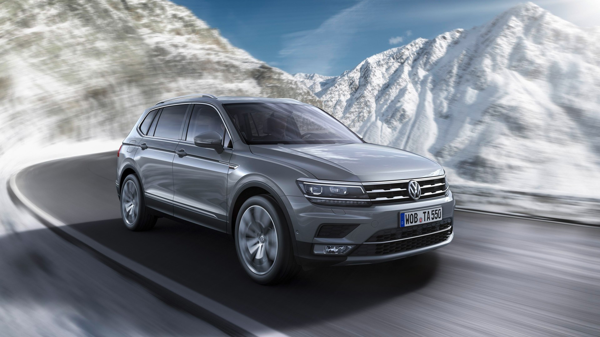 2018 Volkswagen Tiguan Allspace 4k Wallpaper Hd Car