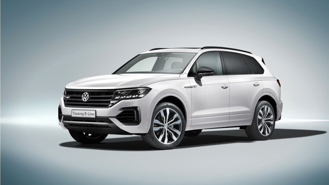 2018 Volkswagen Touareg R Line 4K 2 Wallpaper | HD Car Wallpapers | ID #10036