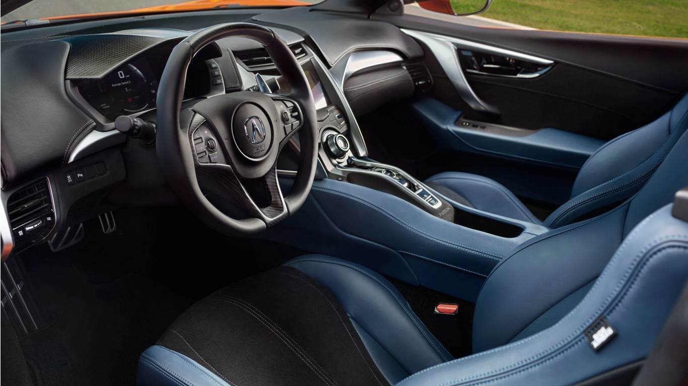 2019 Acura NSX Interior 4K Wallpaper | HD Car Wallpapers ...