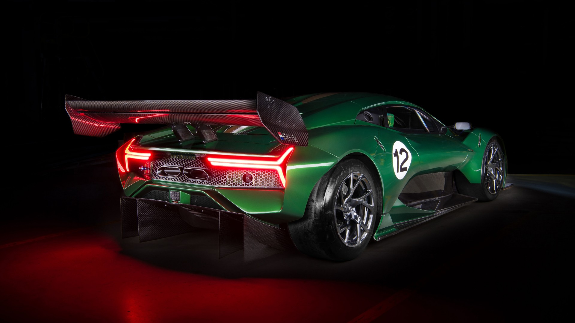 2019 Brabham Bt62 4k 3 Wallpaper Hd Car Wallpapers Id