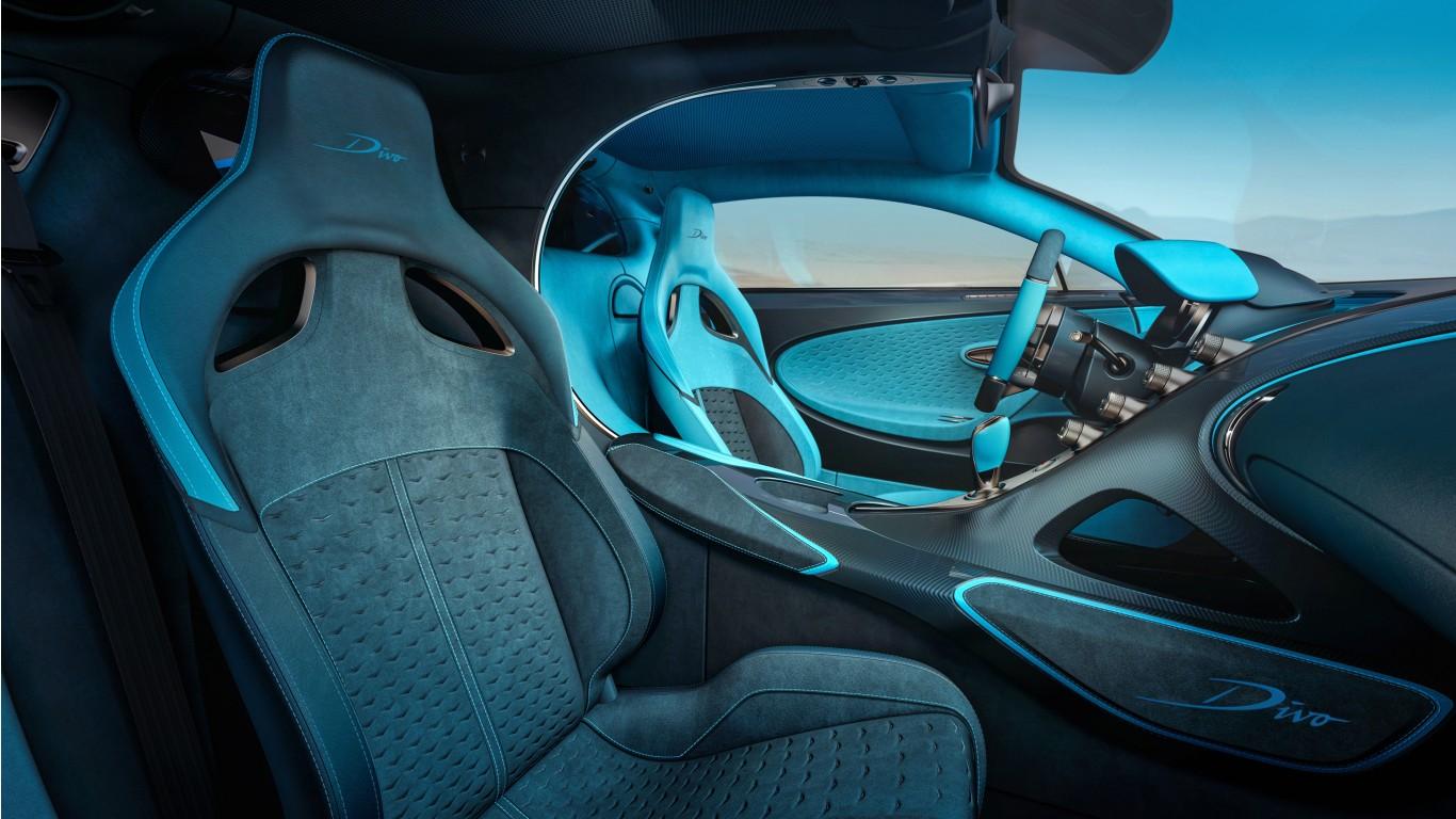 2019 Bugatti Divo 4k Interior Wallpaper Hd Car