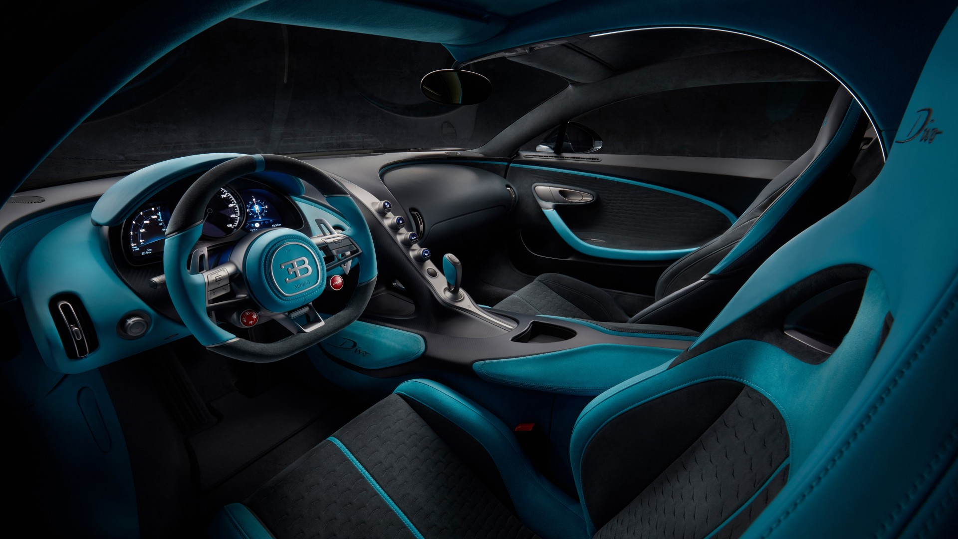 2019 Bugatti Divo Interior 4K Wallpaper | HD Car ...