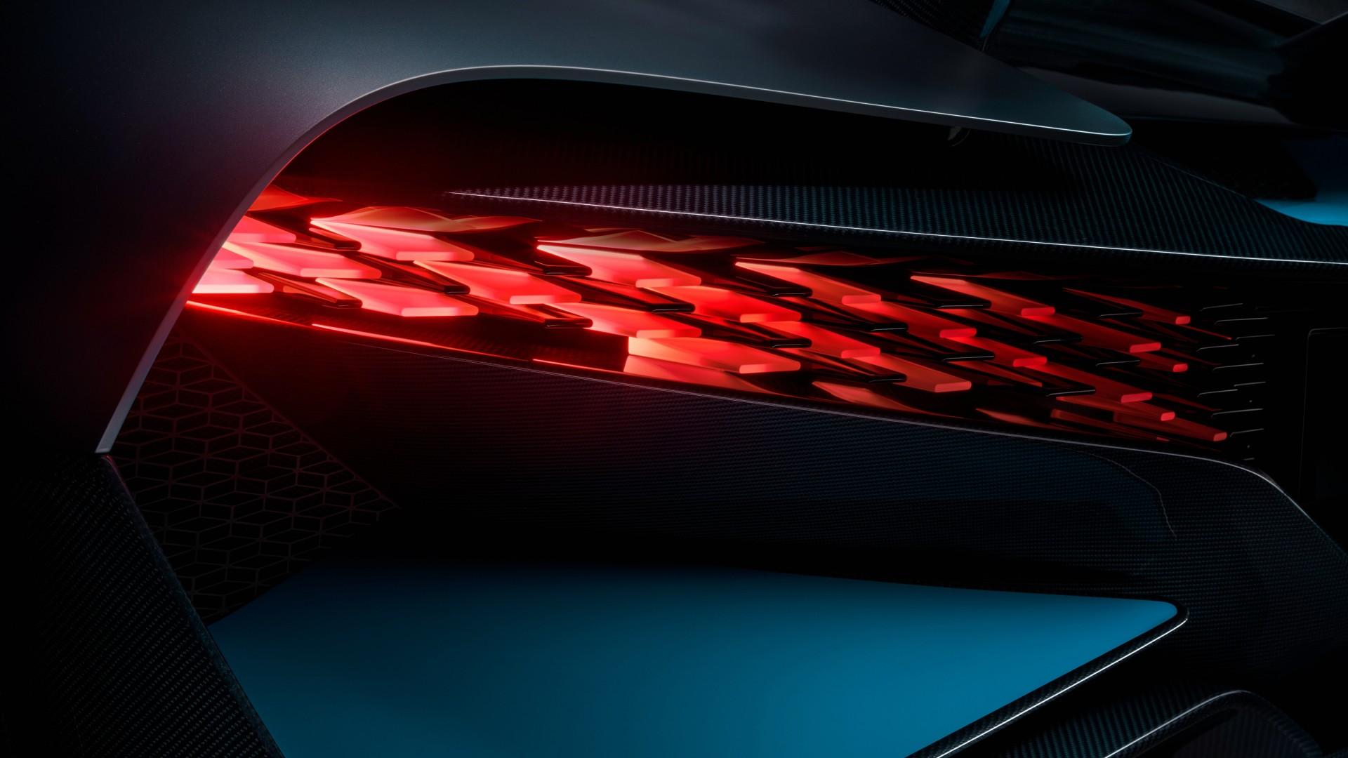 2019 Bugatti Divo Led Tail Lights 4k Wallpaper Hd Car