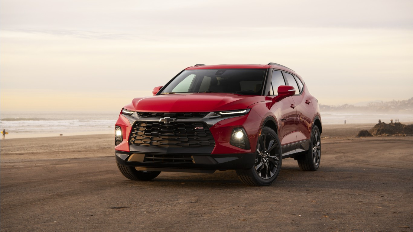 2019 Chevrolet Blazer RS 4K 5K Wallpaper | HD Car ...