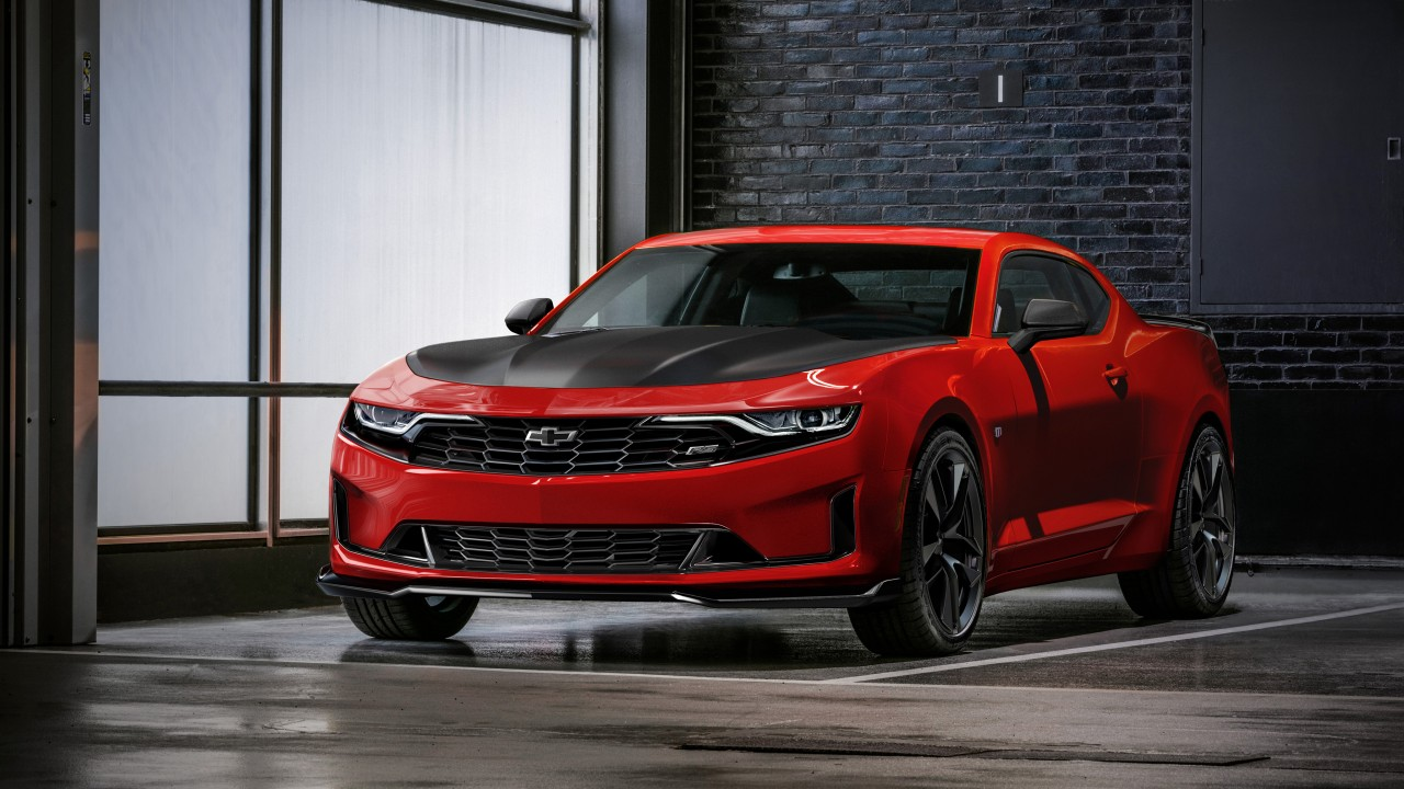 2019 Chevrolet Camaro Rs 1le 4k Wallpaper Hd Car