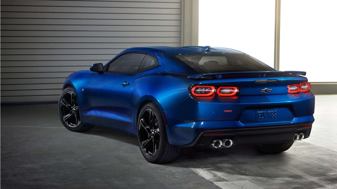 2019 Chevrolet Camaro Ss 4k 2 Wallpaper Hd Car