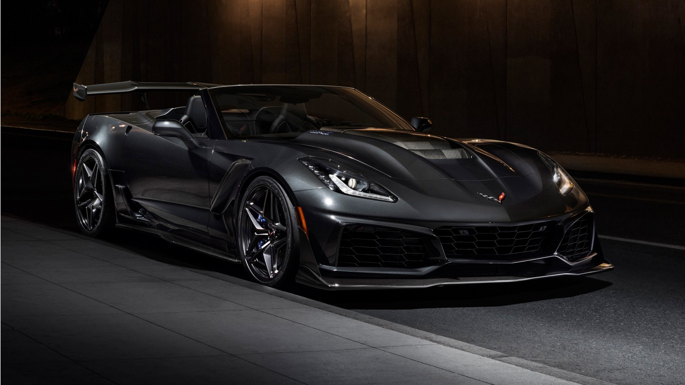 2019 Chevrolet Corvette ZR1 Convertible Wallpaper | HD Car ...