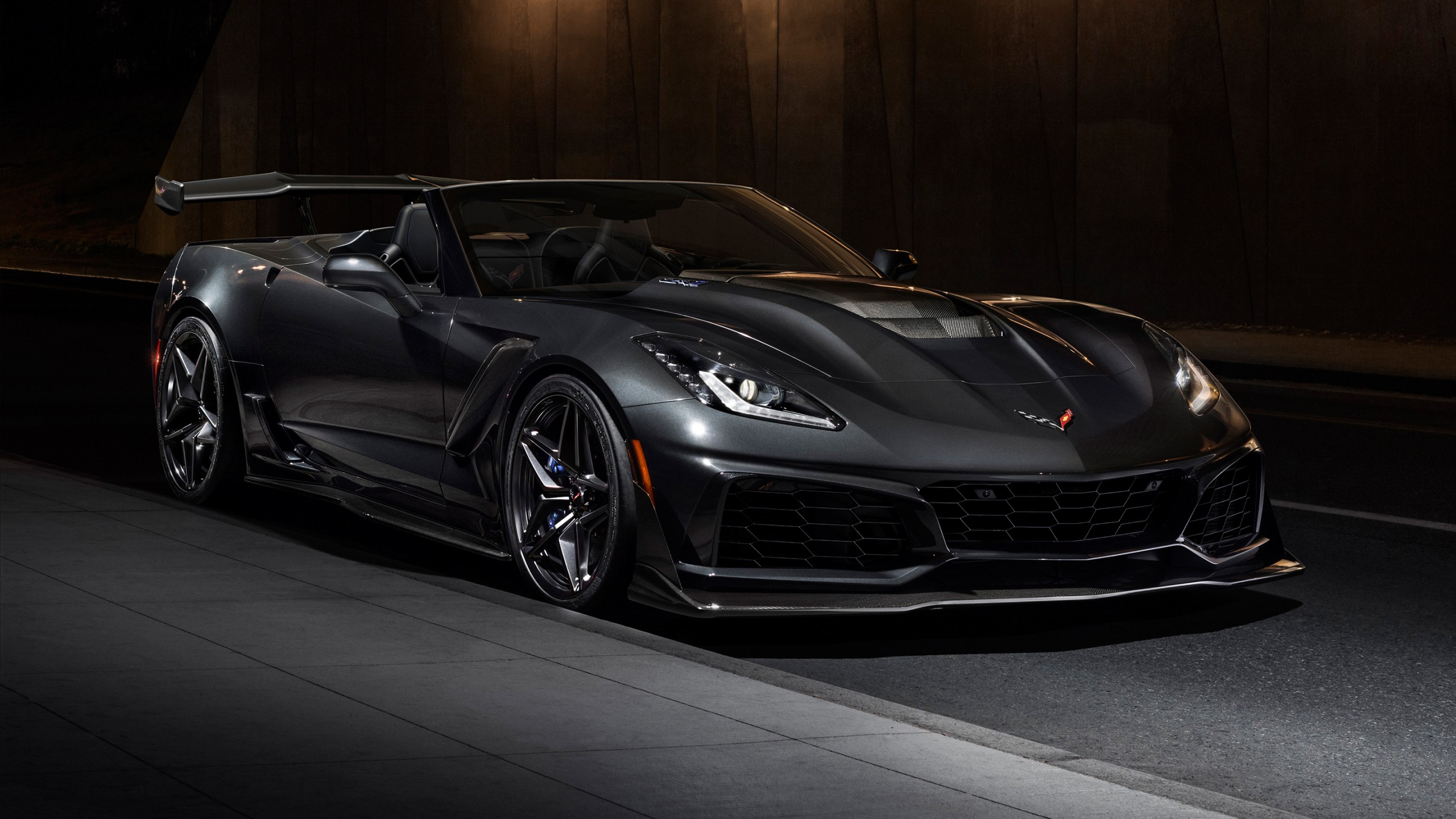 2019 Chevrolet Corvette Zr1 Convertible Wallpaper Hd Car Wallpapers Id 9180