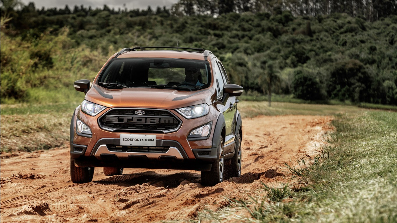 2019 Ford Ecosport Storm 4K Wallpaper