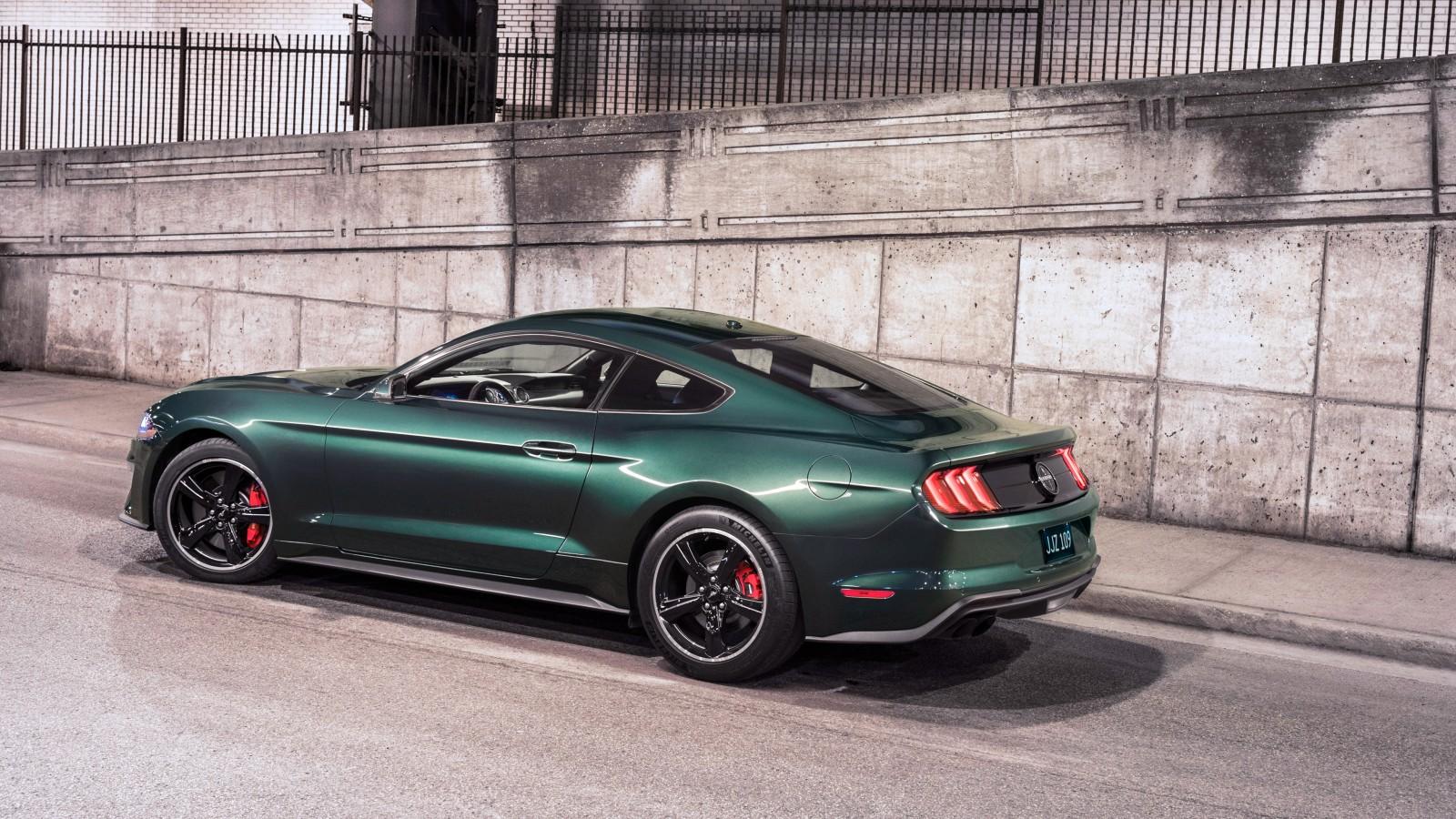 2019 Ford Mustang Bullitt 4k Wallpaper Hd Car Wallpapers