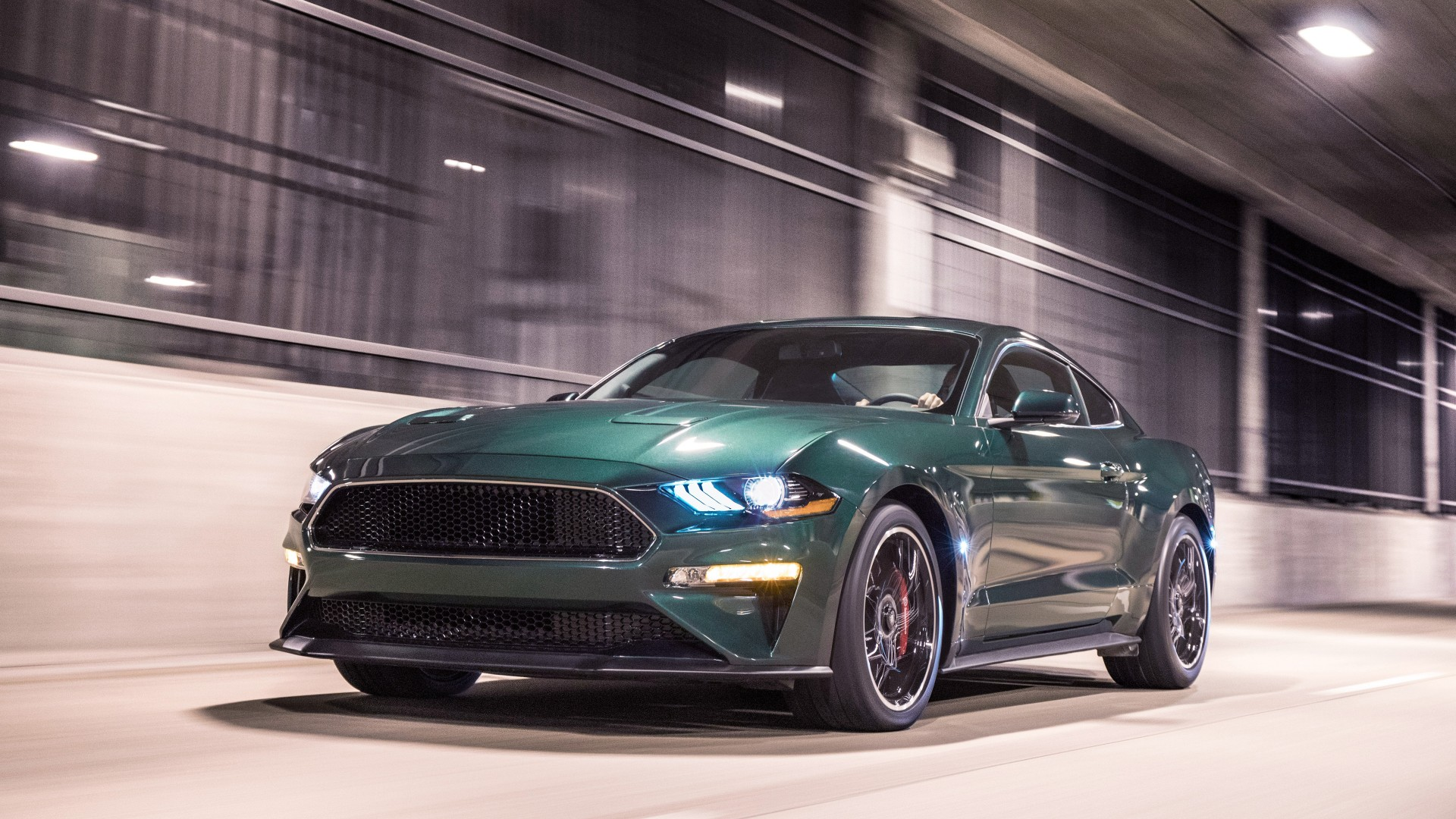 2019 Ford Mustang Bullitt 4K 3 Wallpaper