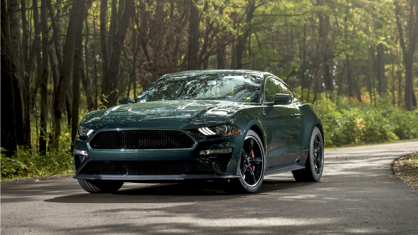 Ford Mustang Ecoboost >> 2019 Ford Mustang Bullitt 5K Wallpaper | HD Car Wallpapers | ID #12554