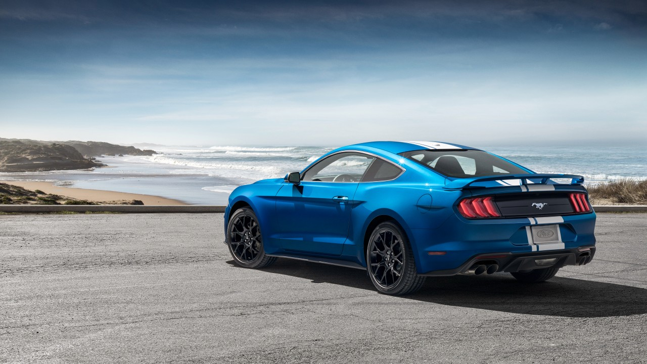 2019 Ford Mustang EcoBoost Performance Pack 4K 2 Wallpaper ...