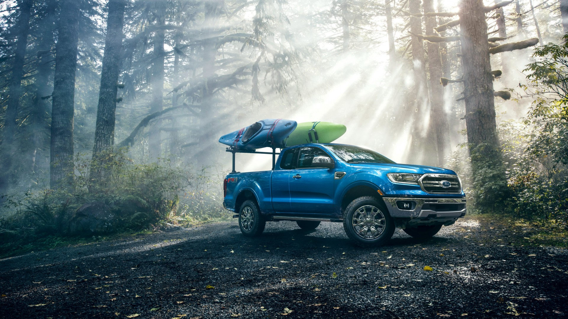 2019 Ford Ranger FX4 Lariat SuperCab 4K Wallpaper | HD Car ...