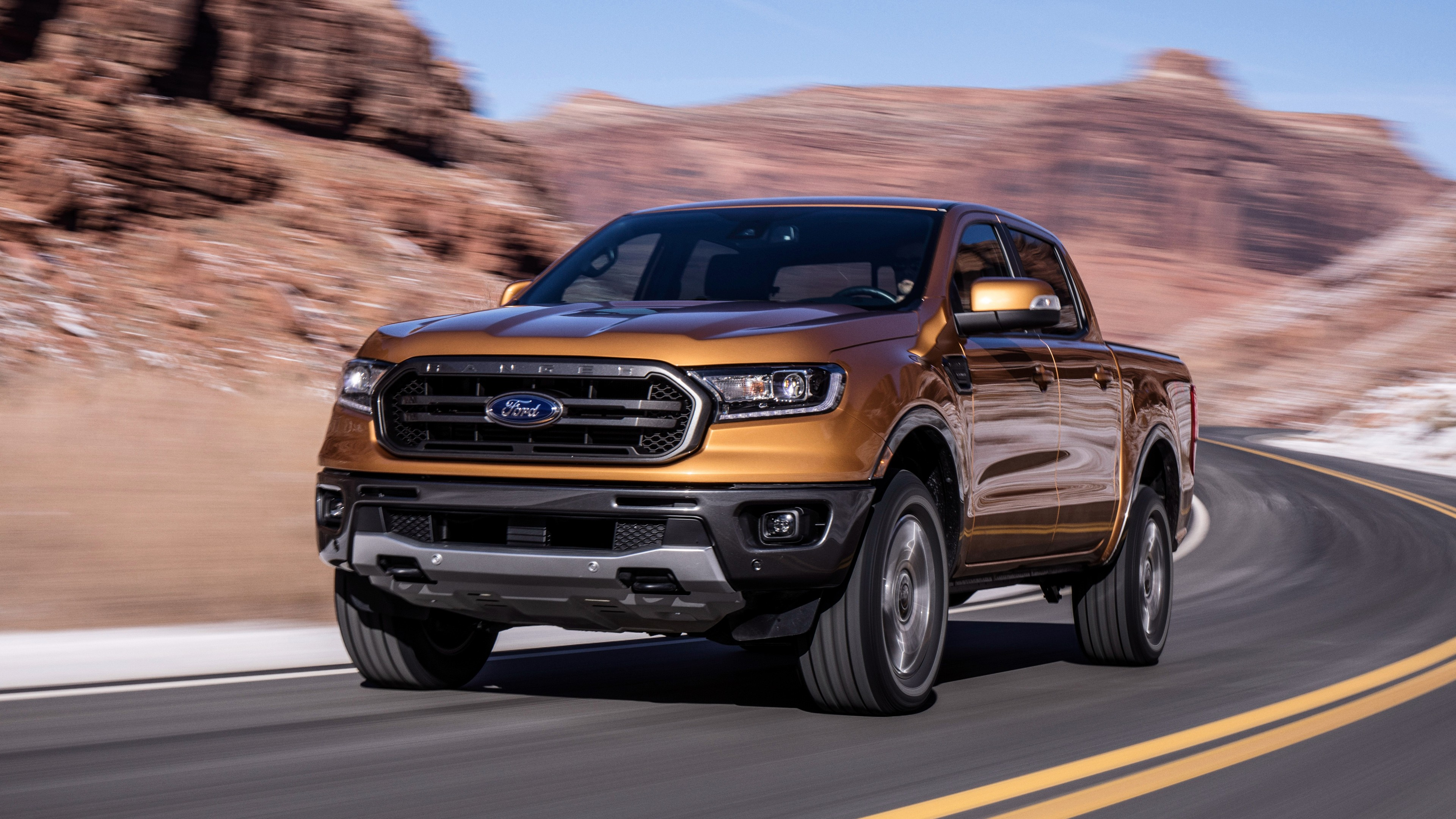 2019 Ford Ranger FX4 Lariat SuperCrew 4K 3 Wallpaper | HD ...