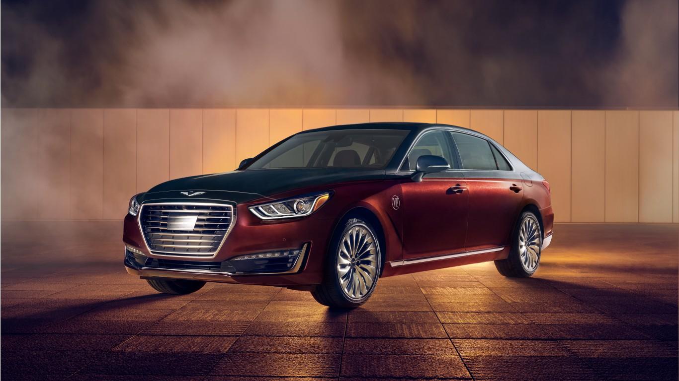 Hyundai Rm16 >> 2019 Genesis G90 Vanity Fair Special Edition 4K 3 Wallpaper | HD Car Wallpapers | ID #9878