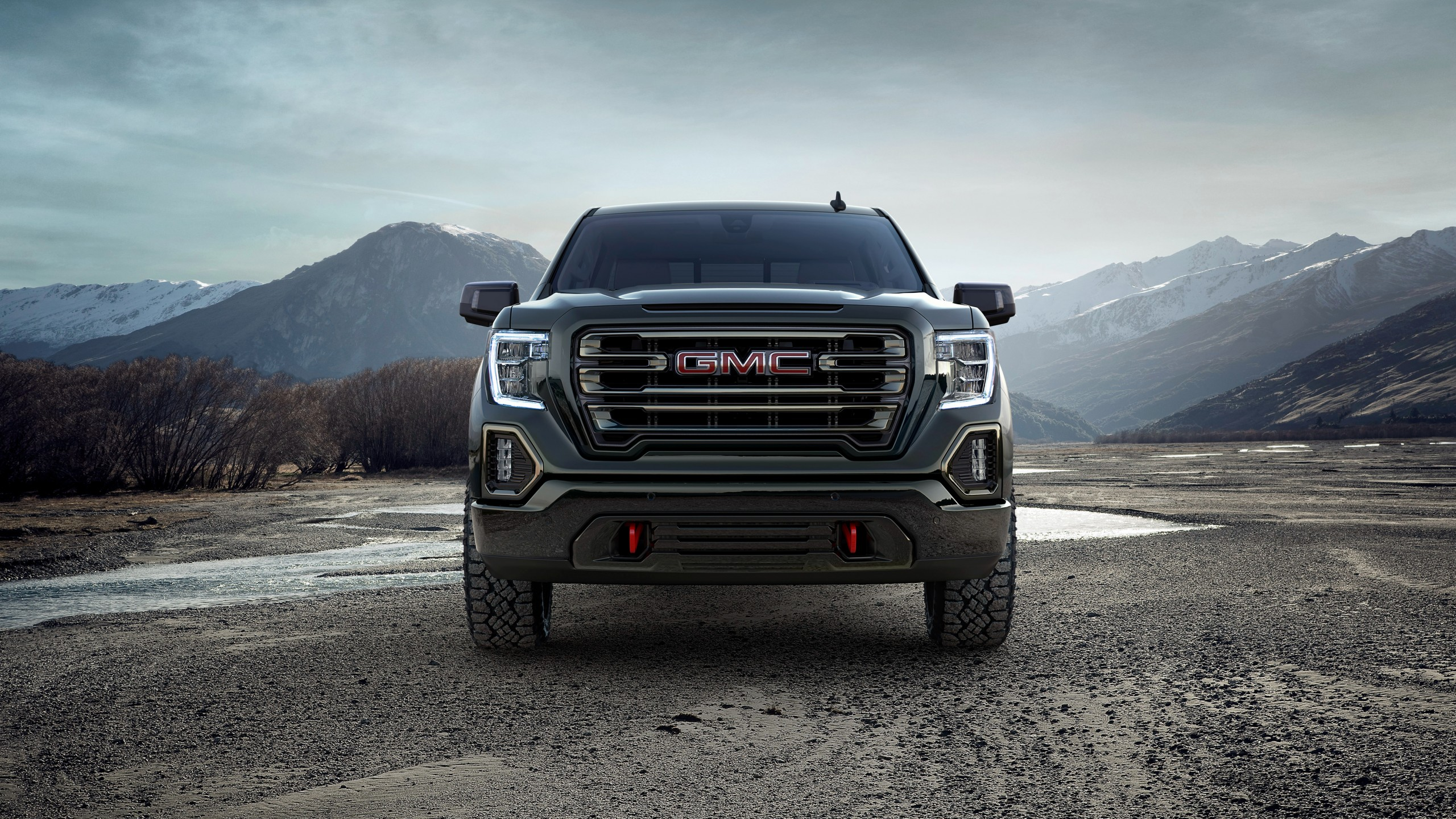 2019 Gmc Sierra At4 Crew Cab 4k Wallpaper Hd Car