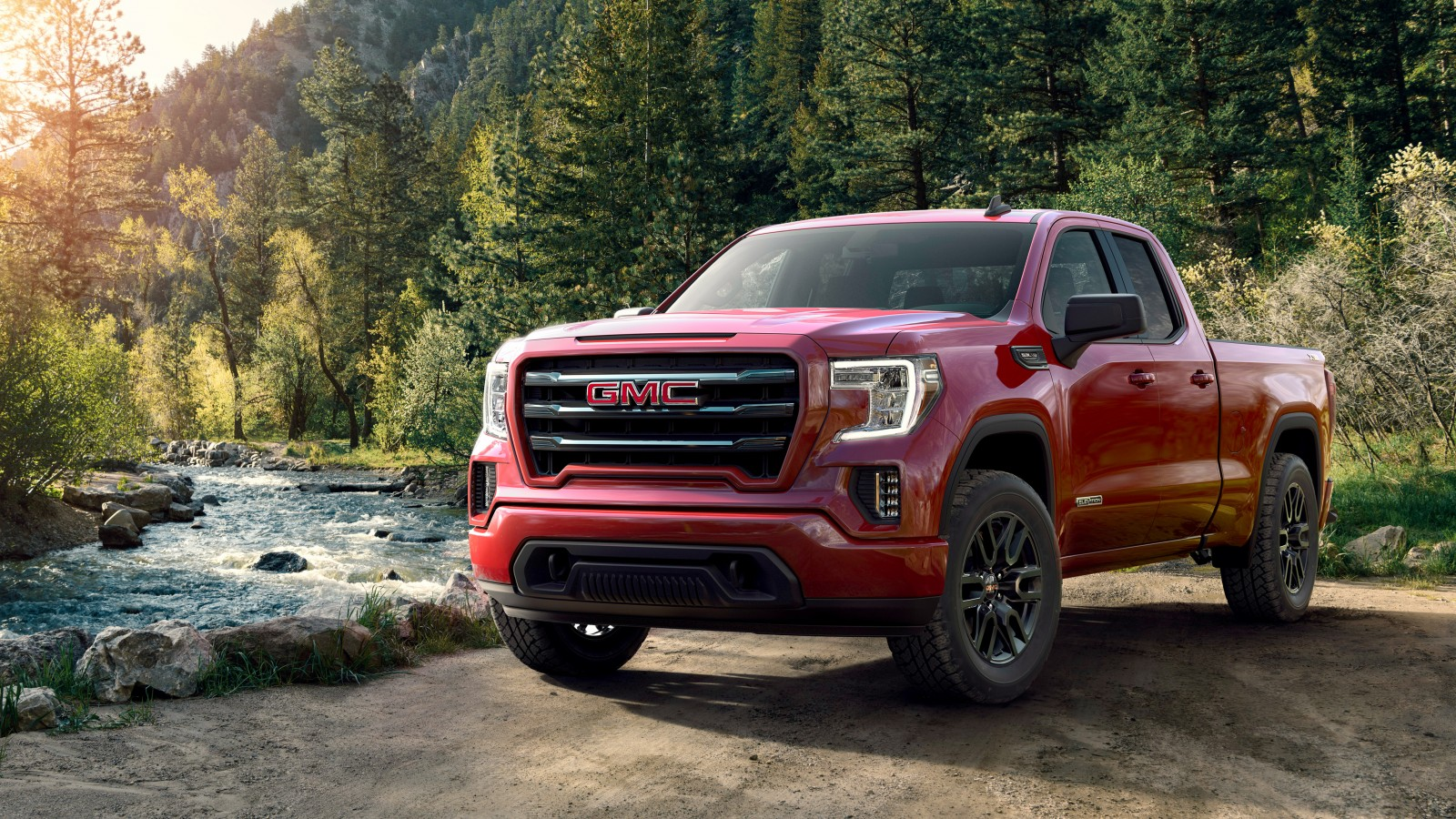 2019 Gmc Sierra Elevation Doule Cab 4k Wallpaper Hd Car