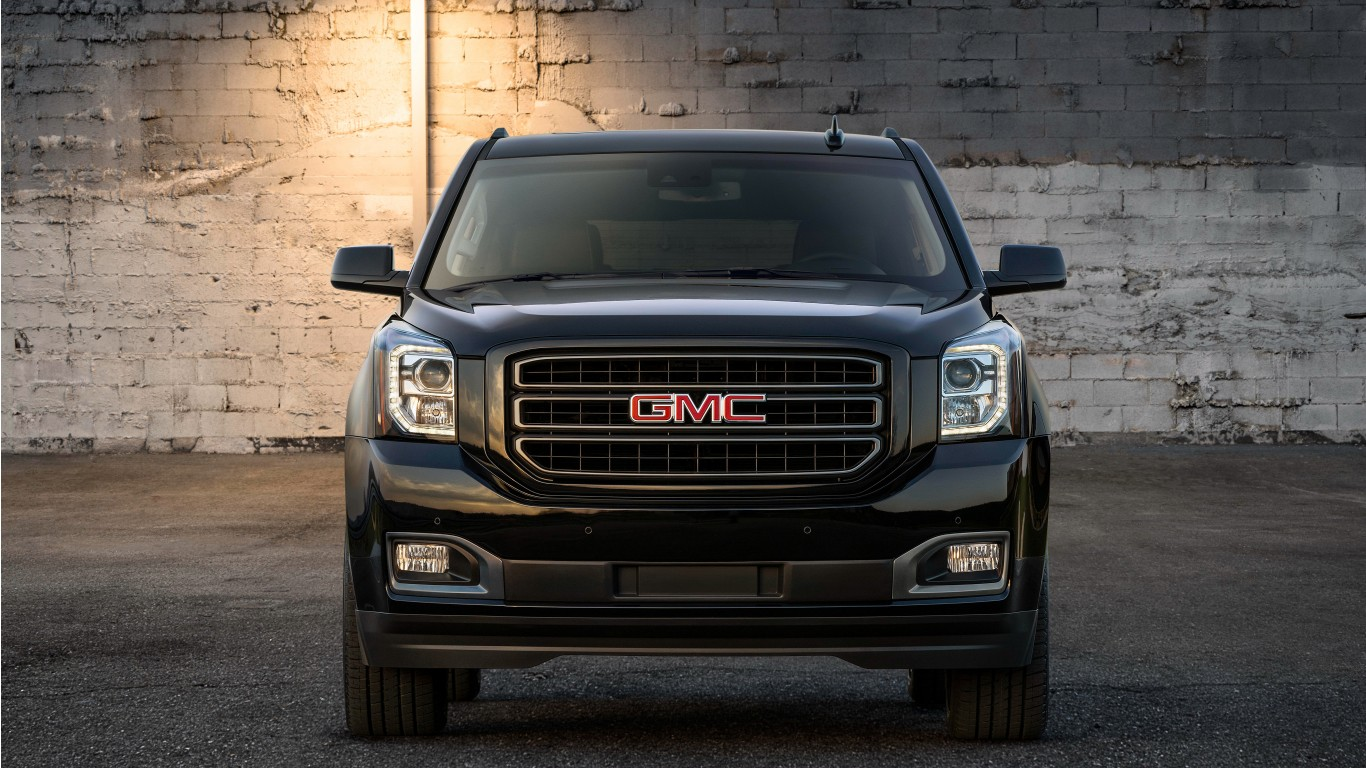 2019 GMC Yukon Graphite Edition 4K Wallpaper
