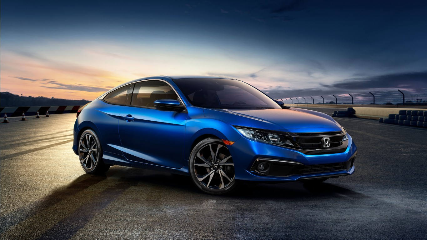 2019 honda civic coupe sport 4k wallpaper