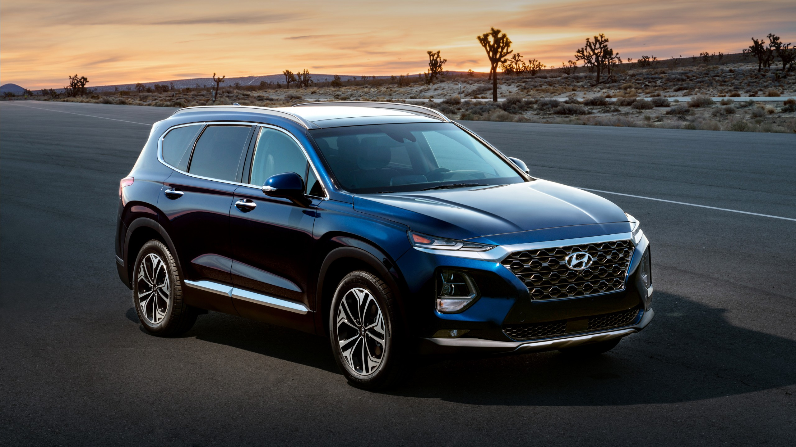 2019 Hyundai Santa Fe Wallpaper Hd Car Wallpapers Id 10107
