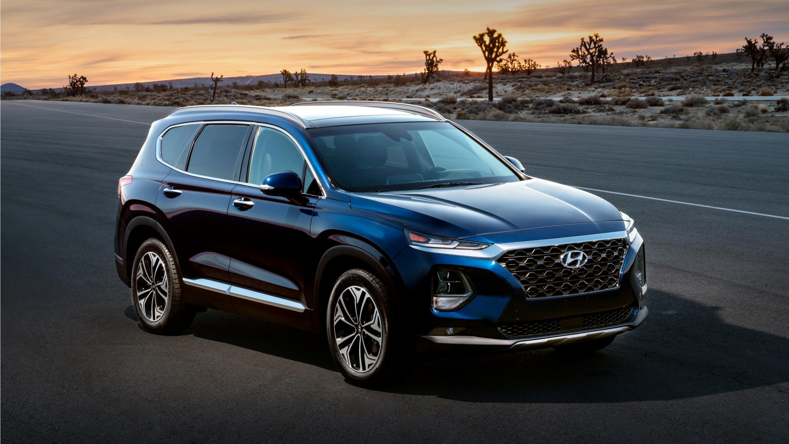 2019 Hyundai Santa Fe Wallpaper Hd Car Wallpapers Id