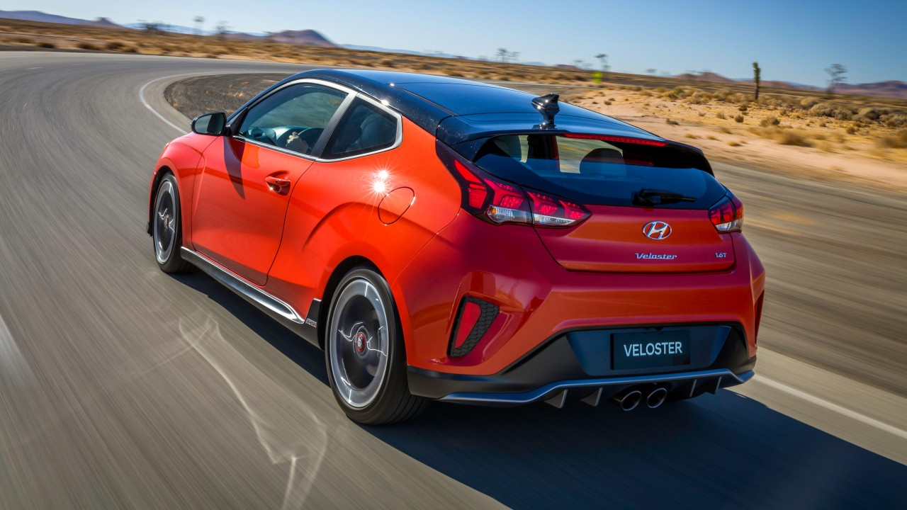 2019 Hyundai Veloster Turbo 4k Wallpaper Hd Car